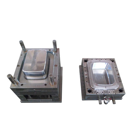 transparent PP storage box body Mould