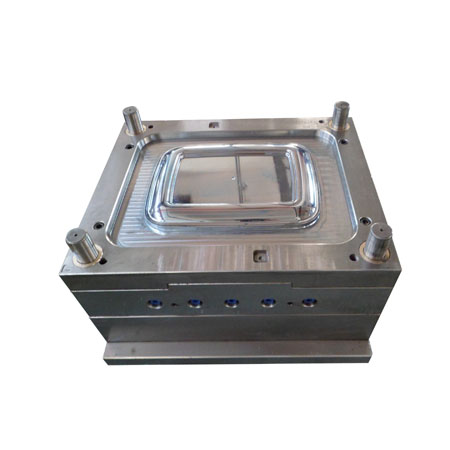 transparent PP storage box cover Mould
